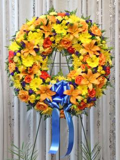 Joyful Sunshine Wreath