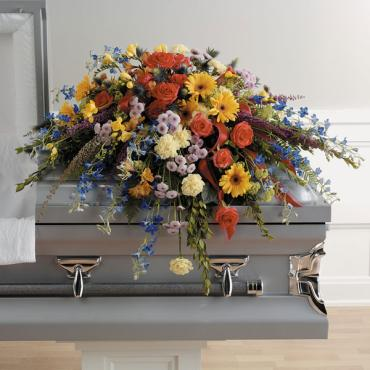Colorful Memories Casket