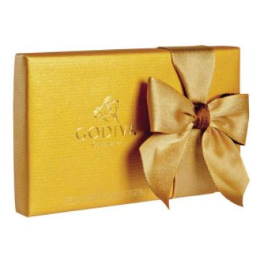 Godiva Small Gold Box 3.4oz