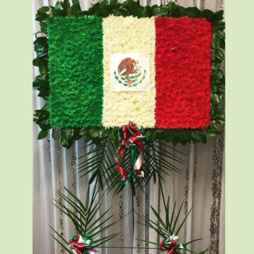 Simply Mexican Flag