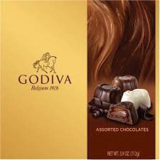 Godiva Assorted Chocolates 3.9oz